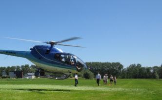 Helikoptervluchten Bedum