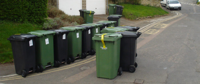 """""""Waste collection is changing"""" by allispossible.org.uk is licensed under CC BY 2.0"""